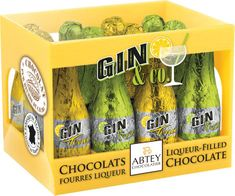 Abtey Gin & Co. Liqueur-Filled Bottles Crate - 12pc - Sold Out