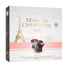 Abtey Marc de Champagne Rose Liqueur-Filled Corks Box - 150g - Sold Out