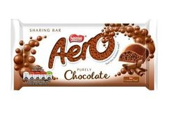Aero Milk Chocolate Sharing Bar - 100g