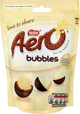 Aero White Chocolate Bubbles - 113g - Not Available 2019