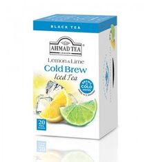 Ahmad Lemon and Lime Cold Brew Iced Tea - 20ct Bags