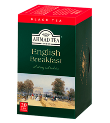 Ahmad English Breakfast - 20ct Bags - 4 In Stock