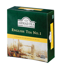 Ahmad English Tea No.1 Tin - 100ct Bags - Sold Out