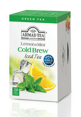 Ahmad Lemon & Mint Cold Brew Iced Tea - 20ct Bags - Sold Out
