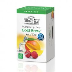 Ahmad Mango & Lychee Cold Brew Iced Tea - 20ct Bags - Sold Out