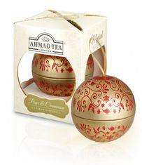 Ahmad Pear & Cinnamon Individual Bauble Ornament - 8ct Bags - Sold Out