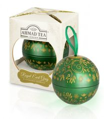 Ahmad Royal Earl Grey Individual Bauble Ornament - 8ct Bag - Sold Out