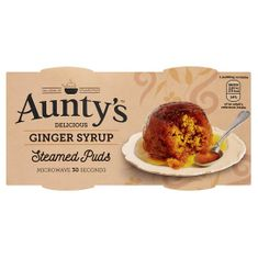 Aunty's Ginger Syrup Puds - 190g