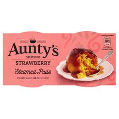 Aunty's Strawberry Puds - 190g - Sold Out