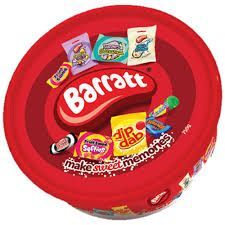 Barrat Christmas Tub - 750g - Not Available 2019