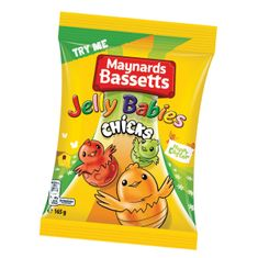 Maynards Bassetts Jelly Babies Chicks Bag - 165g - Sold Out 2020