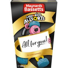 Maynards Bassetts Liquorice Allsorts Carton - 400g - Sold Out