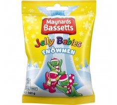 Maynards Bassetts Jelly Babies Snowmen  - 165g - Sold Out 2020