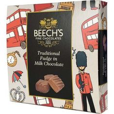 Beech's Traditional Fudge in Milk Chocolate - 90g - Sold Out