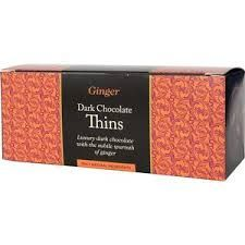 Beech's Dark Chocolate Ginger Thins - 150g - Sold Out