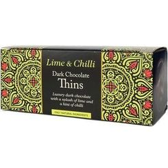 Beech's Dark Chocolate Lime & Chilli Thins - 150g - Sold Out