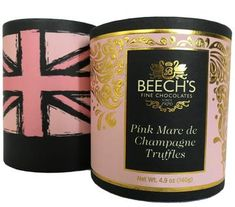 Beech's Pink Marc de Champagne Truffles - 140g - Sold Out