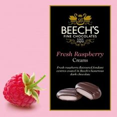 Beech's Raspberry Creams - 90g - Sold Out