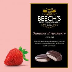 Beech's Summer Strawberry Creams - 90g - Not Available 2019