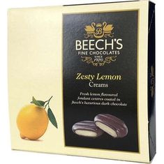 Beech's Zesty Lemon Creams - 90g - 3 In Stock