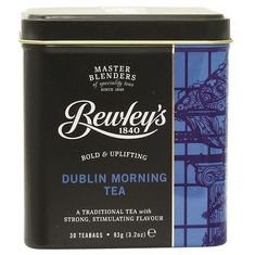 Bewley's Dublin Morning Tea Tin - 30ct teabags - Sold Out