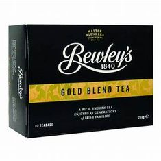 Bewley's Gold Blend Tea - 80ct teabags - 5 in Stock