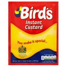 Bird's Instant Custard - 75g - Low Stock
