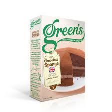 Green's Chocolate Sponge Mix - 221g