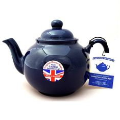 Brown Betty in Cobalt Blue - 6 cup -1 in stock