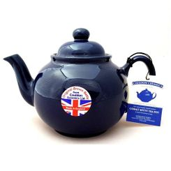 Brown Betty in Cobalt Blue - 6 cup