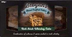 Brogan's Rich Irish Whiskey Cake - 360g - Sold Out