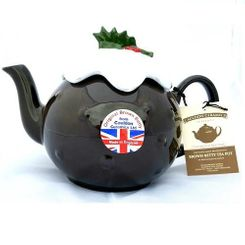 Brown Betty Christmas Pudding Teapot - 8 cup