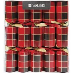 Buffalo Tartan Crackers - 6 pack - Sold Out