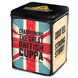 Builders Tea Tin - 80ct Bags - 2 in Stock