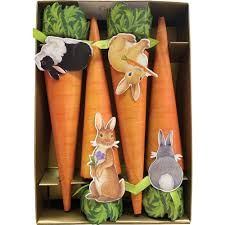Bunnies & Carrots Cone Crackers - 8pk - Sold Out