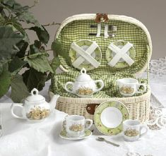 Bunny Tea Set - 1 In Stock