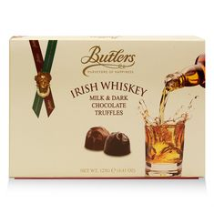 Butlers Irish Whiskey Milk & Dark Chocolate Truffles Box - 125g- Sold Out