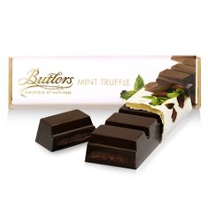 Butlers Mint Chocolate Truffle Bar - 75g - BB Oct 2020 - 3 in stock