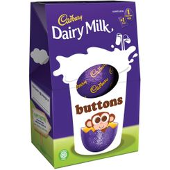 Dairy Milk Buttons Medium Egg - 128g