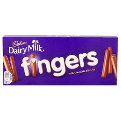 CDM Milk Chocolate Fingers - 114g