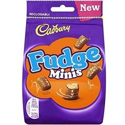 Cadbury Fudge Minis Pouch - 120g - Sold Out
