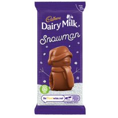 Dairy Milk Chocolate Mousse Snowman - 30g - Sold Out