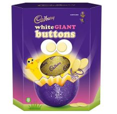 Cadbury White Giant Buttons Egg - 410g - Sold Out 2021