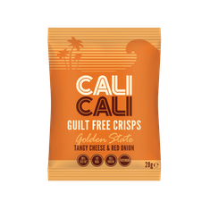 Cali Cali Tangy Cheese & Red Onion Crisps - 28g