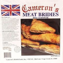 Cameron's Meat Bridies - 4pk - Sold Out