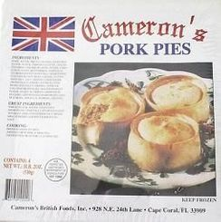 Cameron's Pork Pies - 4pk - Sold Out