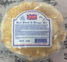 Cameron's Steak and Banger Pies -Sold Out