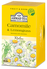 Ahmad Camomile and Lemongrass - 20ct Bags - 2 In Stock