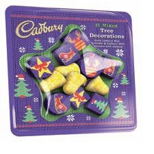 Dairy Milk Caramel Christmas Tree Decorations - 101g - Not Available 2019