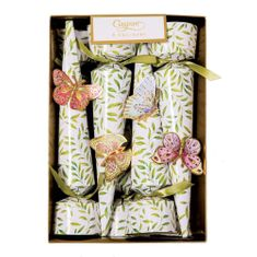 Caspari Jeweled Butterflies - 8 pack - out of stock